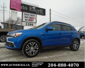 Used 2016 Mitsubishi RVR SE Limited Edition for sale in Winnipeg, MB