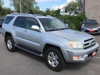 Used 2003 Toyota 4Runner LIMITED V8 for sale in St Catharines, ON
