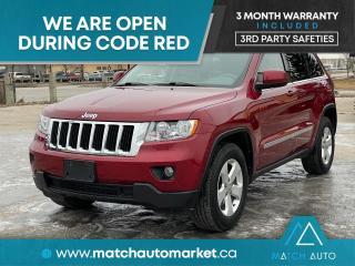 Used 2012 Jeep Grand Cherokee Laredo for sale in Winnipeg, MB