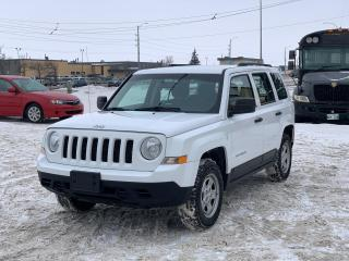 Used 2014 Jeep Patriot SPORT for sale in Winnipeg, MB