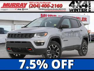 New 2021 Jeep Compass Trailhawk Elite for sale in Brandon, MB