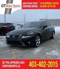 Used 2014 Lexus IS 350 for sale in Calgary, AB