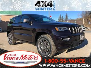 New 2021 Jeep Grand Cherokee 80th Anniversary Edition 4x4...LEATHER*COOLED SEAT for sale in Bancroft, ON