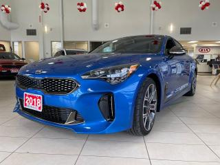 Used 2018 Kia Stinger GT Limited for sale in Waterloo, ON