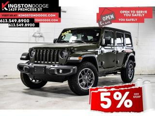 New 2021 Jeep Wrangler Unlimited Sport 80th Anniversary  | Nav | Dual Top for sale in Kingston, ON