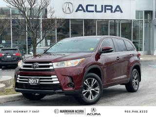 Used 2017 Toyota Highlander LE AWD for sale in Markham, ON
