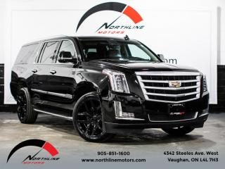 Used 2016 Cadillac Escalade ESV Luxury Collection/7 Passenger/DVD/Navigation for sale in Vaughan, ON