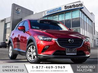 Used 2020 Mazda CX-3 0.99%FINANCE|CPO|AWD|GS|1 OWNER|CLEAN CARFAX for sale in Scarborough, ON