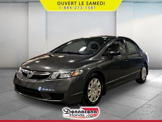 Used 2010 Honda Civic DX-A *JAMAIS ACCIDENTE* for sale in Donnacona, QC