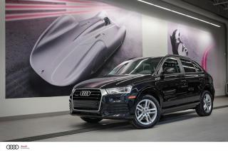Used 2018 Audi Q3 KOMFORT - 2.0 TFSI - QUATTRO AWD for sale in Sherbrooke, QC