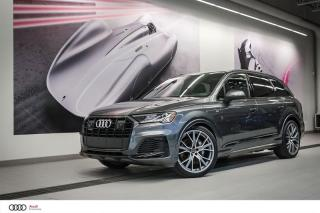 Used 2020 Audi Q7 TECHNIK - V6T TURBO 3.0L - AWD QUATTRO for sale in Sherbrooke, QC