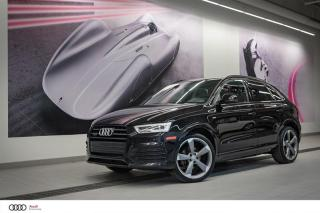 Used 2016 Audi Q3 TECHNIK S-LINE - 2.0 TFSI - QUATTRO AWD for sale in Sherbrooke, QC