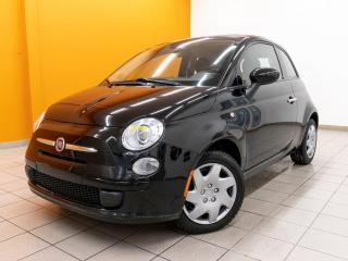 Used 2015 Fiat 500 C POP CLIMATISEUR CONVERTIBLE CUIR ROUGE *BAS KM* for sale in Mirabel, QC