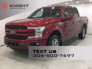 Used 2018 Ford F-150 LARIAT FX4 SuperCrew | Leather | Sunroof | Navigation | for sale in Regina, SK