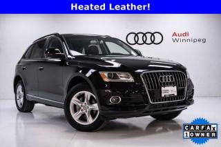 Used 2017 Audi Q5 2.0T Komfort w/Sunroof *Local Trade* for sale in Winnipeg, MB