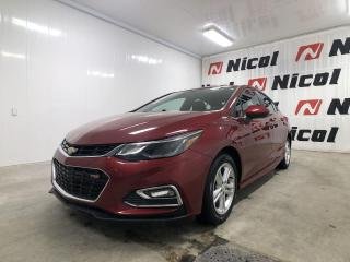 Used 2018 Chevrolet Cruze UNKNOWN Sièges avant chauffants! for sale in La Sarre, QC