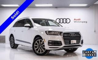 Used 2017 Audi Q7 3.0T Technik w/Sunroof & Navigation *Local Trade* for sale in Winnipeg, MB