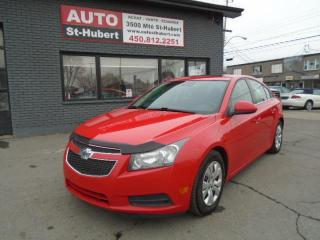 Used 2014 Chevrolet Cruze LT for sale in St-Hubert, QC