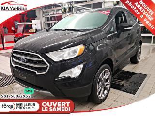 Used 2019 Ford EcoSport TITANIUM *AWD*GPS*CAMÉCA*CUIR*TOIT* for sale in Québec, QC
