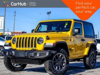 New 2021 Jeep Wrangler 80th Anniversary 4x4 Hard Top Navigation Bluetooth Backup Camera Blind Spot Remote Start 18