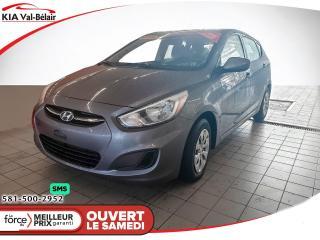 Used 2016 Hyundai Accent *L*LECTEUR CD*PRISE AUXILIAIRE* for sale in Québec, QC