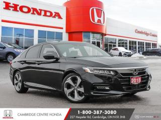 Used 2018 Honda Accord Touring 2.0T APPLE CARPLAY™ & ANDROID AUTO™ | HEATED SEATS | HONDA SENSING TECHNOLOGIES for sale in Cambridge, ON