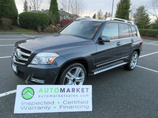 Used 2011 Mercedes-Benz GLK350 GLK350 4MATIC NAVIGATION, MOONROOF, INSP, WARR, FINANCE, BCAA MBSHP for sale in Surrey, BC