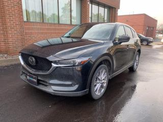 Used 2019 Mazda CX-5 GT Turbo, HUD, Navigation, Adaptive Cruise, Leather, Bose for sale in King, ON