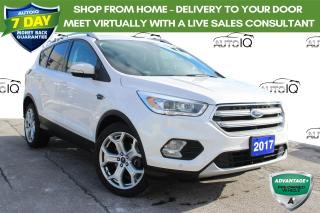 Used 2017 Ford Escape Titanium CPO! FINANCE AT 1.9% OVER 60 MNTHS oac!! for sale in Hamilton, ON