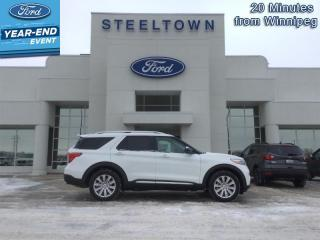 New 2021 Ford Explorer Limited  - Leather Seats -  Cooled Seats for sale in Selkirk, MB