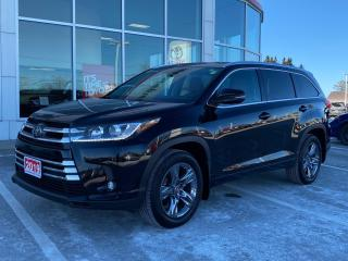 Used 2019 Toyota Highlander Limited LIMITED! for sale in Cobourg, ON