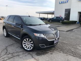 Used 2013 Lincoln MKX MKX HEAT & COOLED SEATSNAV PANO ROOF BLIND SPOT for sale in Leamington, ON