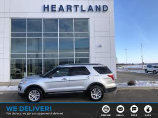 Used 2018 Ford Explorer XLT AWD | LEATHER | REMOTE START | BACK UP CAMERA | HEATED SEATS-USED EDMONTON FORD DEALER for sale in Fort Saskatchewan, AB