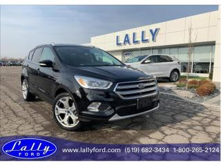 Used 2017 Ford Escape Titanium, Only 17,907 kms, ask how to get 1.9%! for sale in Tilbury, ON