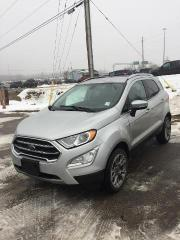 New 2020 Ford EcoSport Titanium for sale in North Bay, ON