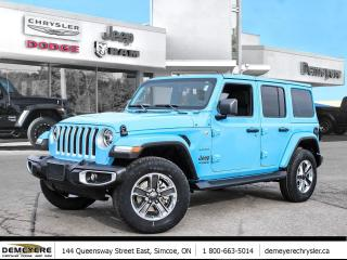 New 2021 Jeep Wrangler UNLIMITED SAHARA | NAVIGATION | LEATHER for sale in Simcoe, ON