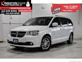 Used 2015 Dodge Grand Caravan SXT Premium Plus   ONE Owner   DVD   NAV for sale in Kingston, ON