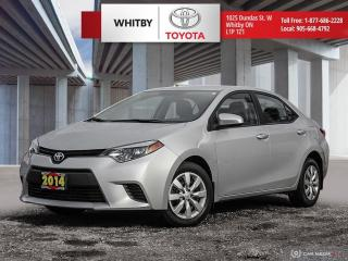 Used 2014 Toyota Corolla LE for sale in Whitby, ON