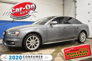 Used 2015 Audi A4 2.0T PROGRESSIV PLUS S-LINE | NAVIGATION for sale in Ottawa, ON