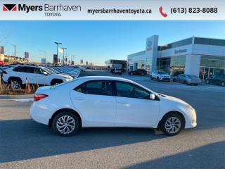 Used 2017 Toyota Corolla LE  - Heated Seats -  Bluetooth - $98 B/W for sale in Ottawa, ON