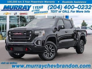 New 2021 GMC Sierra 1500 AT4 for sale in Brandon, MB