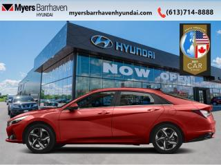 New 2021 Hyundai Elantra Ultimate IVT  - Leather Seats - $171 B/W for sale in Nepean, ON