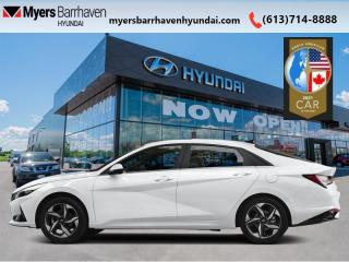 New 2021 Hyundai Elantra Ultimate IVT  - Leather Seats - $169 B/W for sale in Nepean, ON