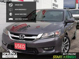 Used 2015 Honda Accord EX-L SMOKE-FREE, NEW WINDSHIELD, NEW TIRES, NEW FRONT BRAKES for sale in Cranbrook, BC