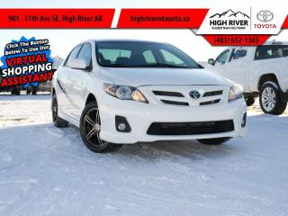 Used 2013 Toyota Corolla S for sale in High River, AB