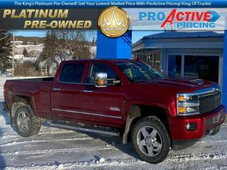 Used 2018 Chevrolet Silverado 2500 HD High Country | 6.6L Duramax | 4X4 | Crew | Sunroof for sale in Virden, MB