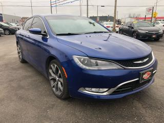 Used 2015 Chrysler 200 AWD*PANO ROOF*NAV*BACKUP CAM for sale in London, ON