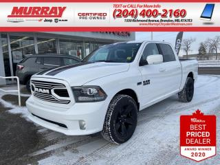 Used 2018 RAM 1500 * Apple Car Play* Heated Cloth Seats* *Back-up Cam for sale in Brandon, MB