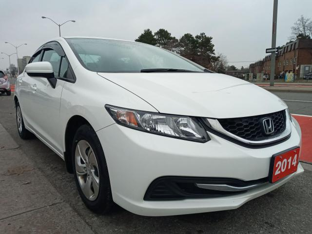 2014 Honda Civic LX-EXTRA CLEAN-ONLY 127K-ECO-4CYL-BLUETOOTH-AUX