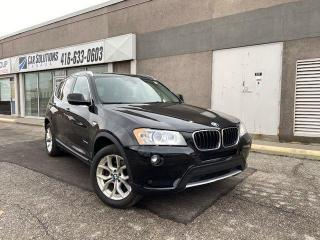 Used 2013 BMW X3 28i-NAVI-SUNROOF-LEATHER for sale in Toronto, ON